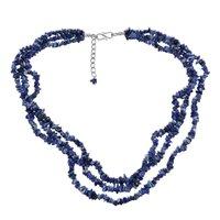 Sodalite Gemstone Chips Necklace PG-131566