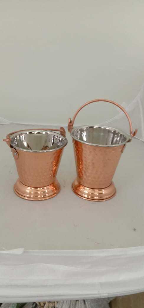 Bucket Steel Copper