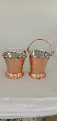 Bucket Steel Copper