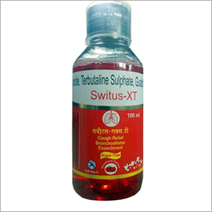 Ambroxol Terbutaline Sulphate Guaifenesin Syrup