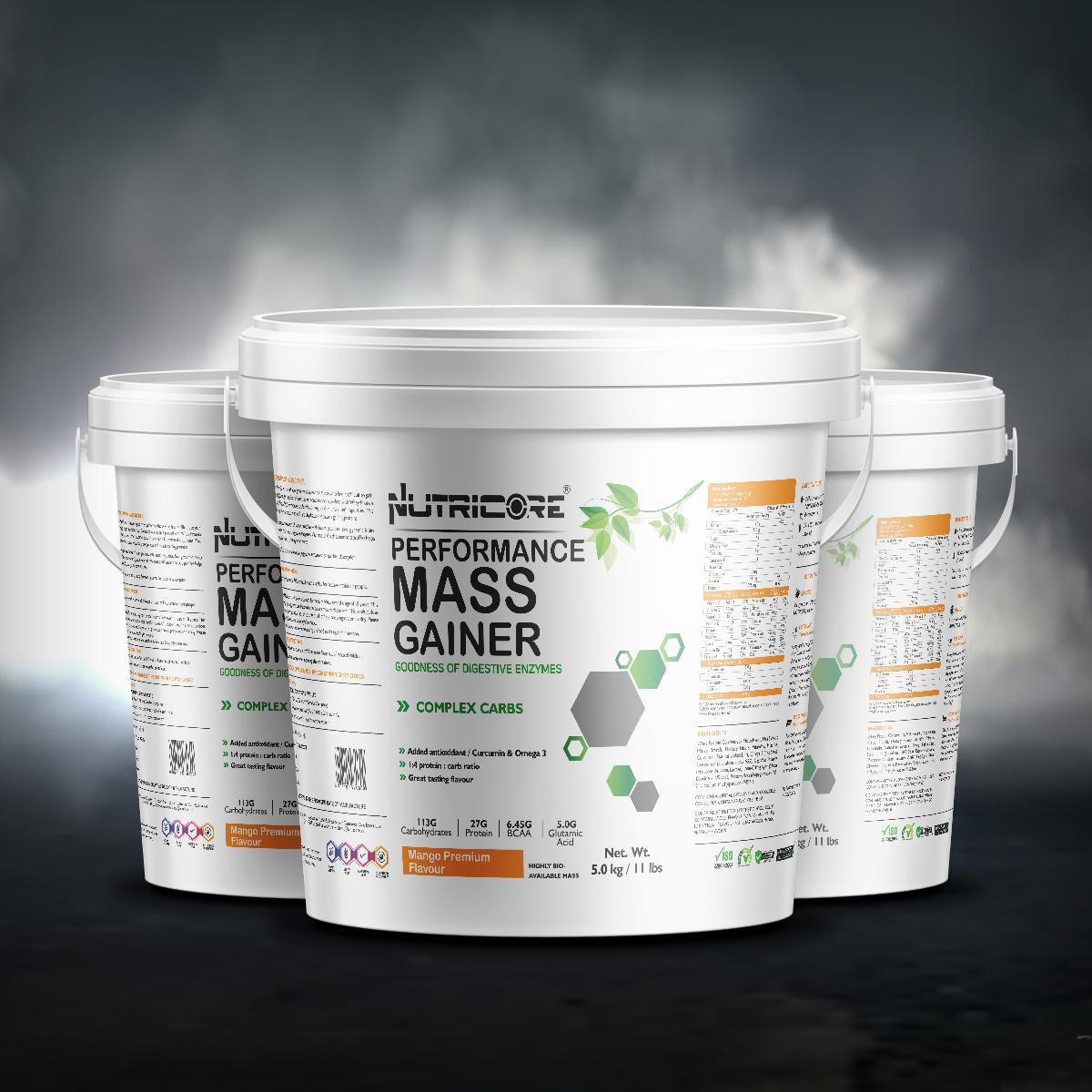 Muscle Mass Gainer (Mango Premium) 5 Kg