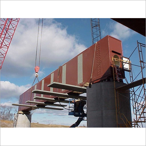 Steel Girder Foot Over Bridge