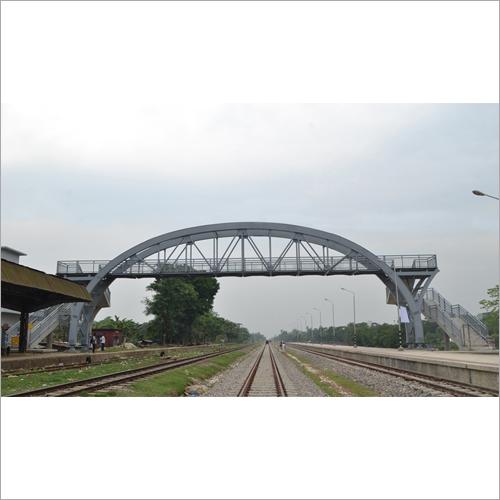 Railway Track Foot Over Bridge