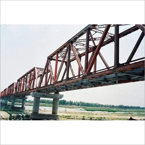 Railway Steel Girder Over Bridge