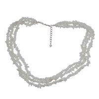 Rainbow Moonstone Gemstone Chips Necklace PG-131574