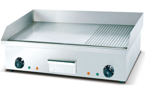 Griddle Electric Plate [Flat & Grooved] 4.4 Kw