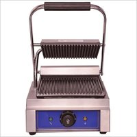 Sandwich Panini Griller (Grooved) 1.8 Kw Commercial