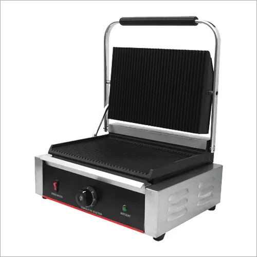 Sandwich Panini Griller (Grooved) 2.2 Kw Double Commercial