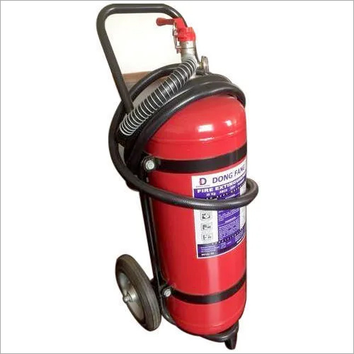 50Kg Fire Extinguisher With Trolley