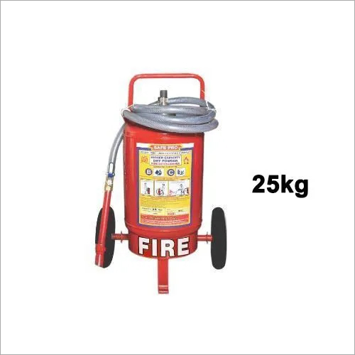 25kg Higher Capacity Fire Extinguisher With Trolley