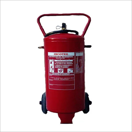 50 Kg Mechanical Foam Fire Extinguisher With Trolley
