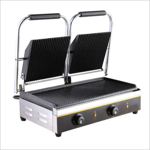 Sandwich Panini Griller (Double Grooved) 3600 Watts Commercial