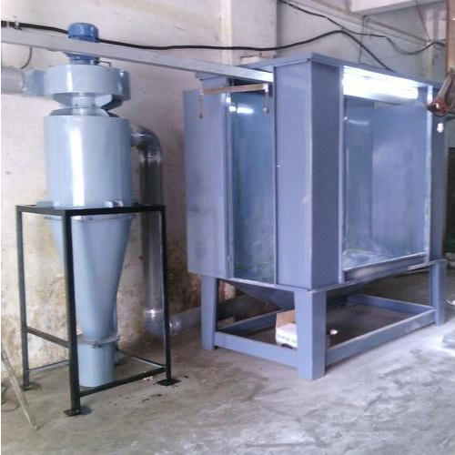Powder Coating Booth With Recovery Plant