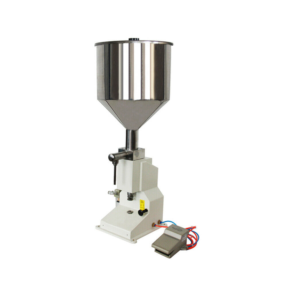 5-50ml Pneumatic Liquid & Paste Shampoo Filling Machine