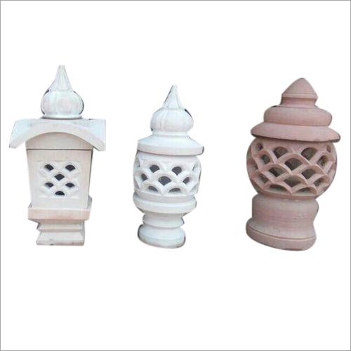 Outdoor Sandstone Lamp