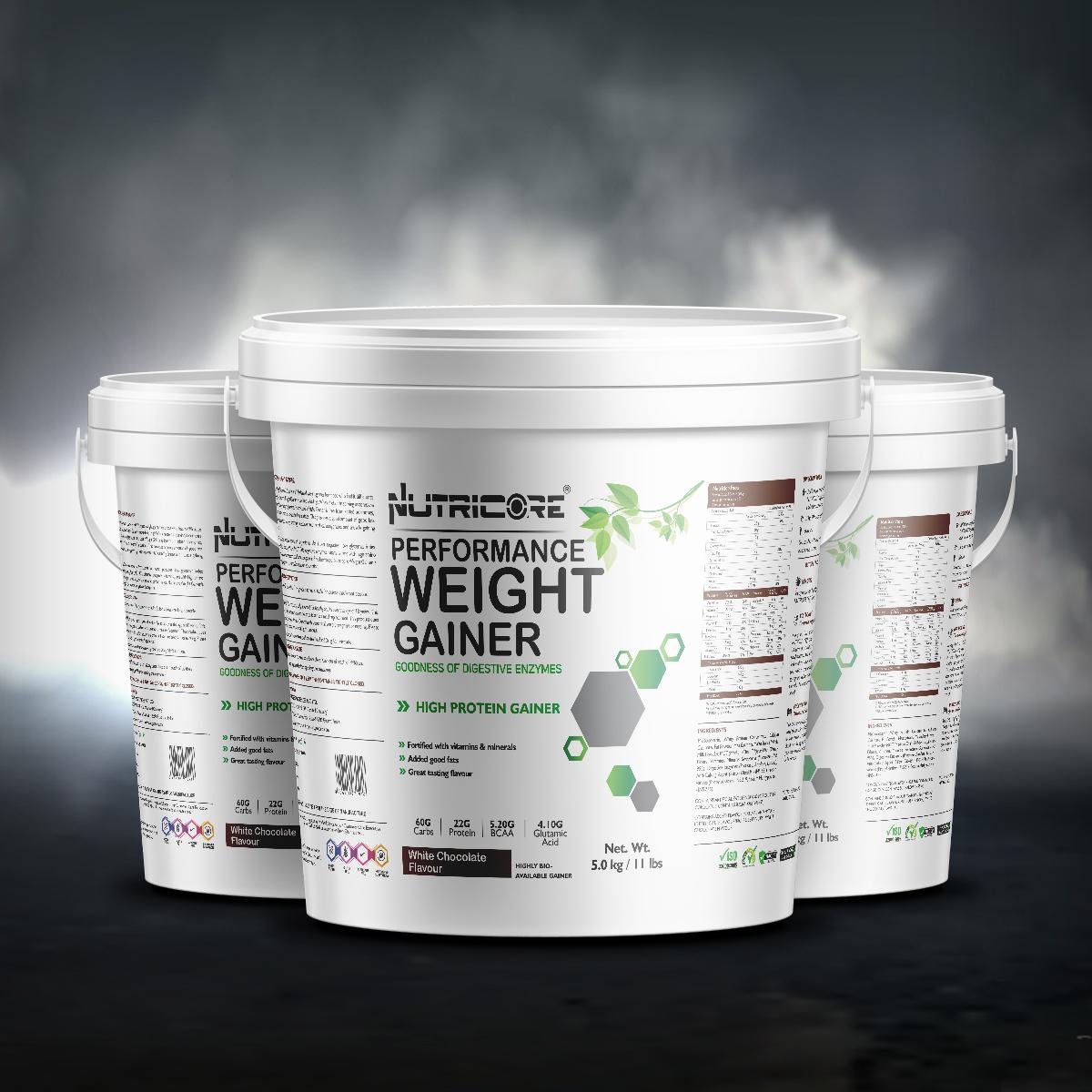 Weight Gainer (White Chocolate) 5 Kg