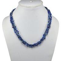 Sodalite Gemstone Chips Necklace PG-131581