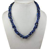 Sodalite Gemstone Chips Necklace PG-131589