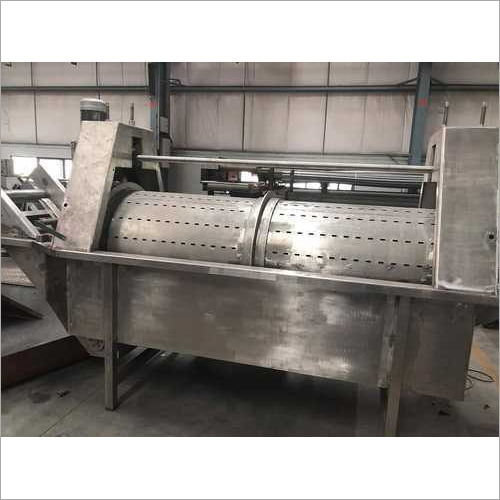 Carrot Wash Processing Machine