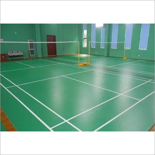 Pvc Badminton Courts Flooring