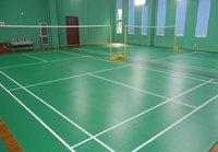 Pvc Badminton Courts Flooring