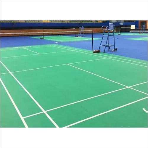 Pvc Badminton Court Mat