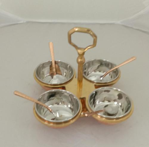 Pickle Set Steel Copper & Brass