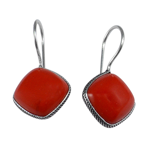 Red Coral Awesome Earring PG-133353