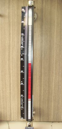 Side Mounted Magnetic Level Indicator With Transmitter