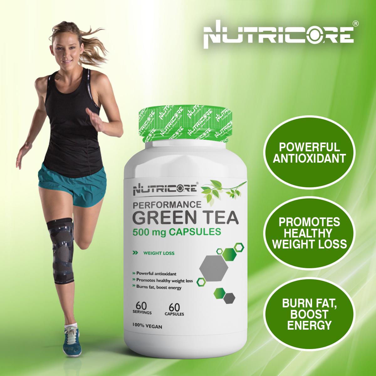 Green Tea Capsules 500 Mg Capsules