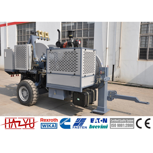 TY2x35 Diesel 77kw(103hp) Tension Machine For Overhead Stringing