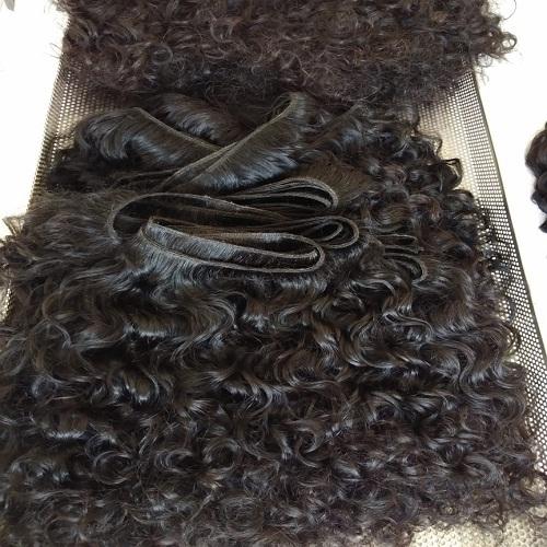 Natural curly Human hair Extension