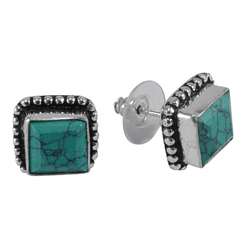 Turquoise Gemstone Earring PG-133367