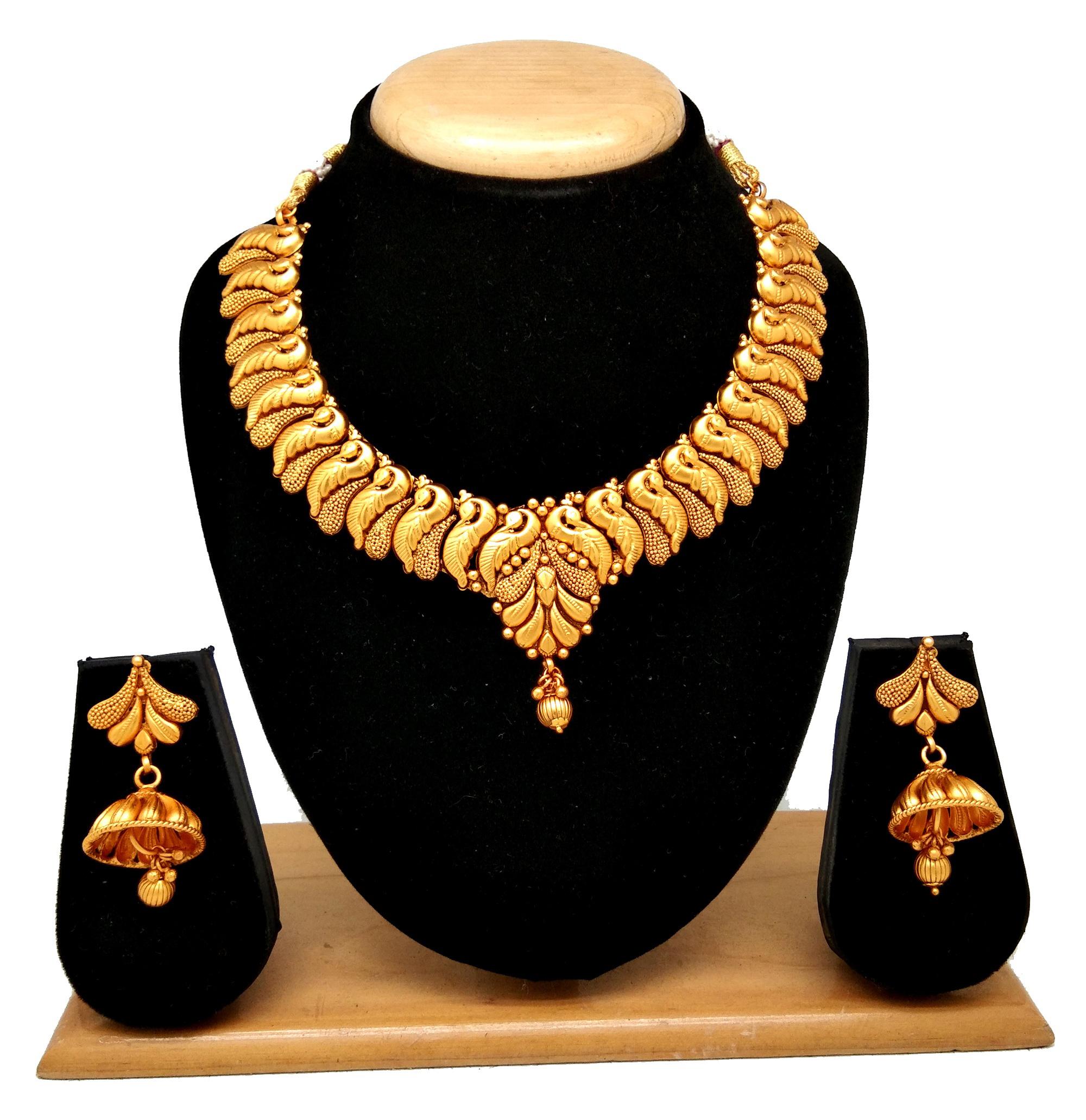 Latest Design Temple collection necklace set