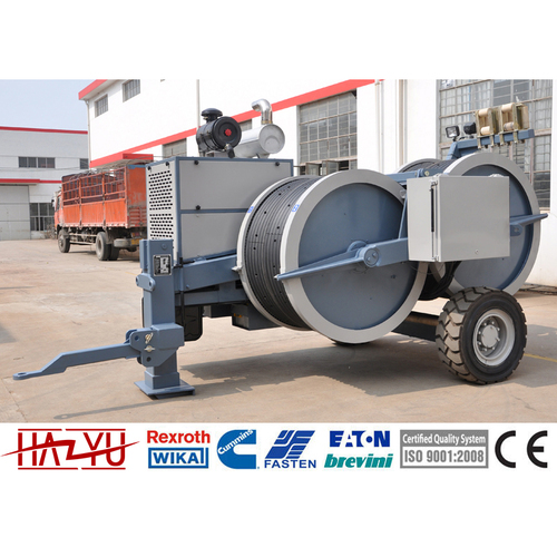TY1x80 Stringing Equipment Hydraulic Tensioner Machine For Overhead Stringing