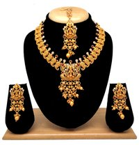Latest Design Temple collection necklace set