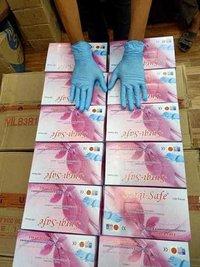 Hand Glove Blue