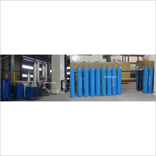 Oxygen and Nitrogen Gas Cylinder Filling Plant