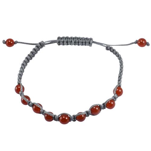 Carnelian Gemstone Stretchable Bracelet PG-133384
