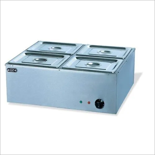 Bain Marie [4 Pans of 1/2 x 150mm, 9.2 ltr. each] Commercial