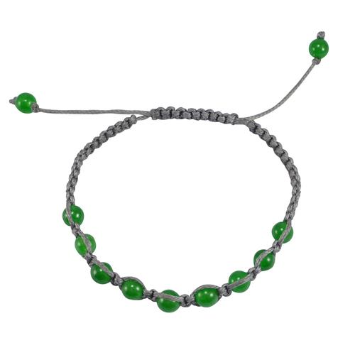 Green Onyx Gemstone Stretchable Bracelet PG-133387