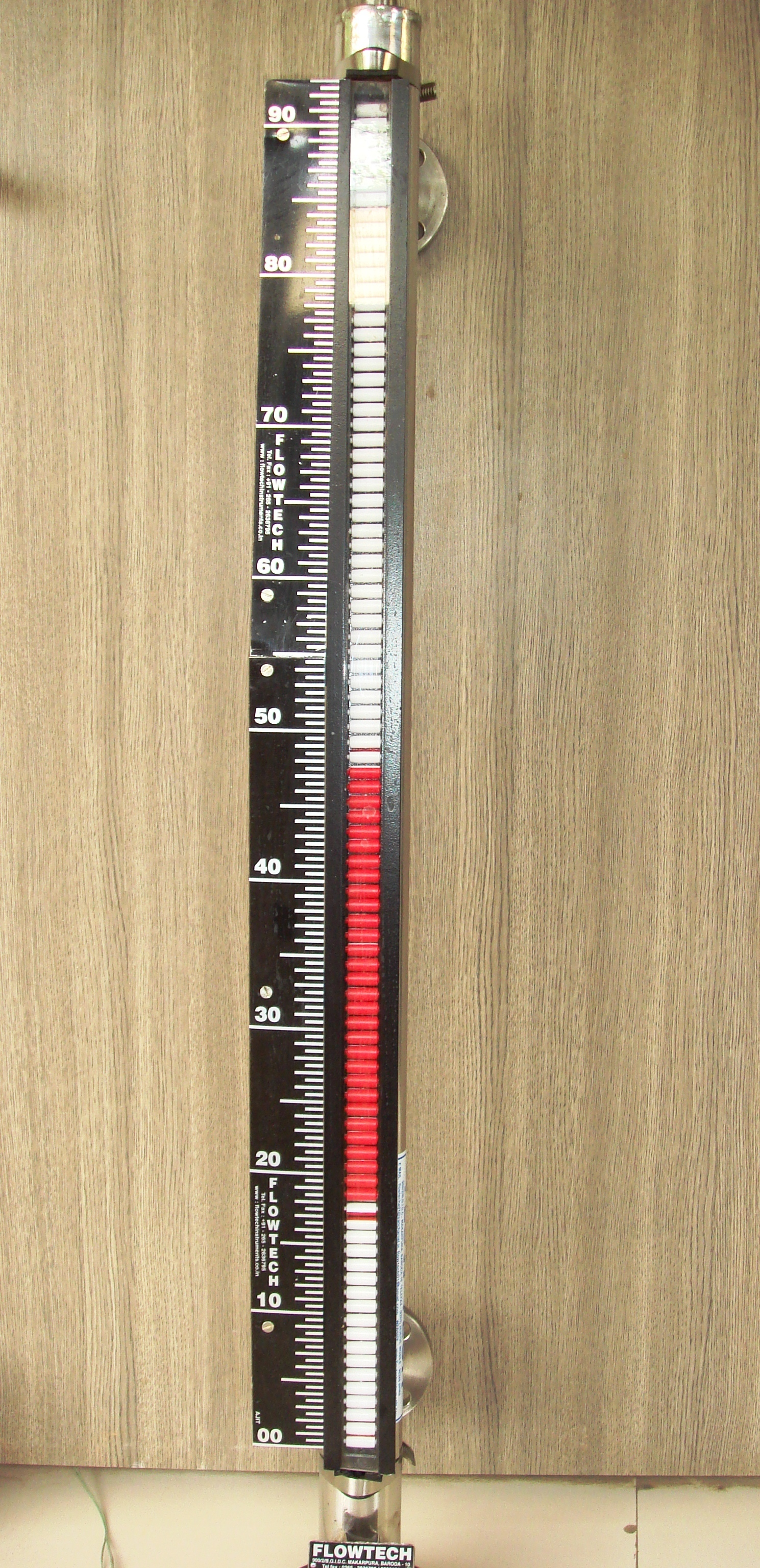 Magnetic liquid level Gauge with Transmitter