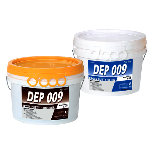 Double Component Epoxy Putty for Concrete Crack Repair