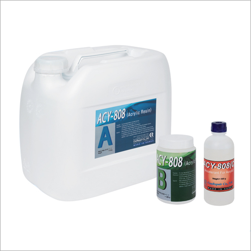Acrylic Resins for Grouting