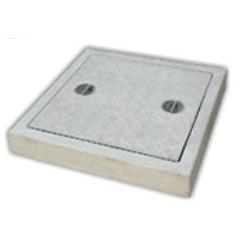 Plain Square Manhole Cover with Frame