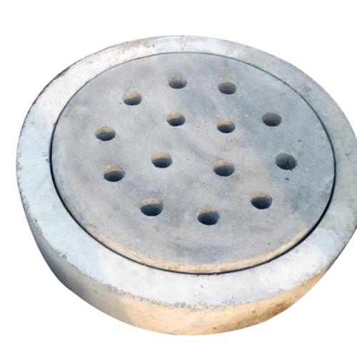 Round Manhole Frame and Cover with Hole