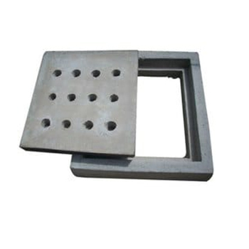 Manhole Frame and Cover with Hole