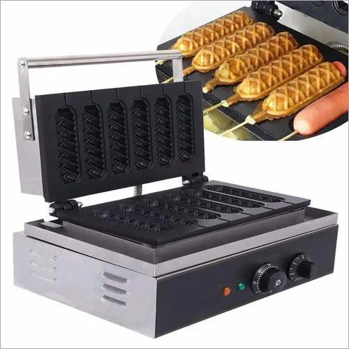 Waffle Maker Crisp [5 parts] 1.5 Kw Commercial
