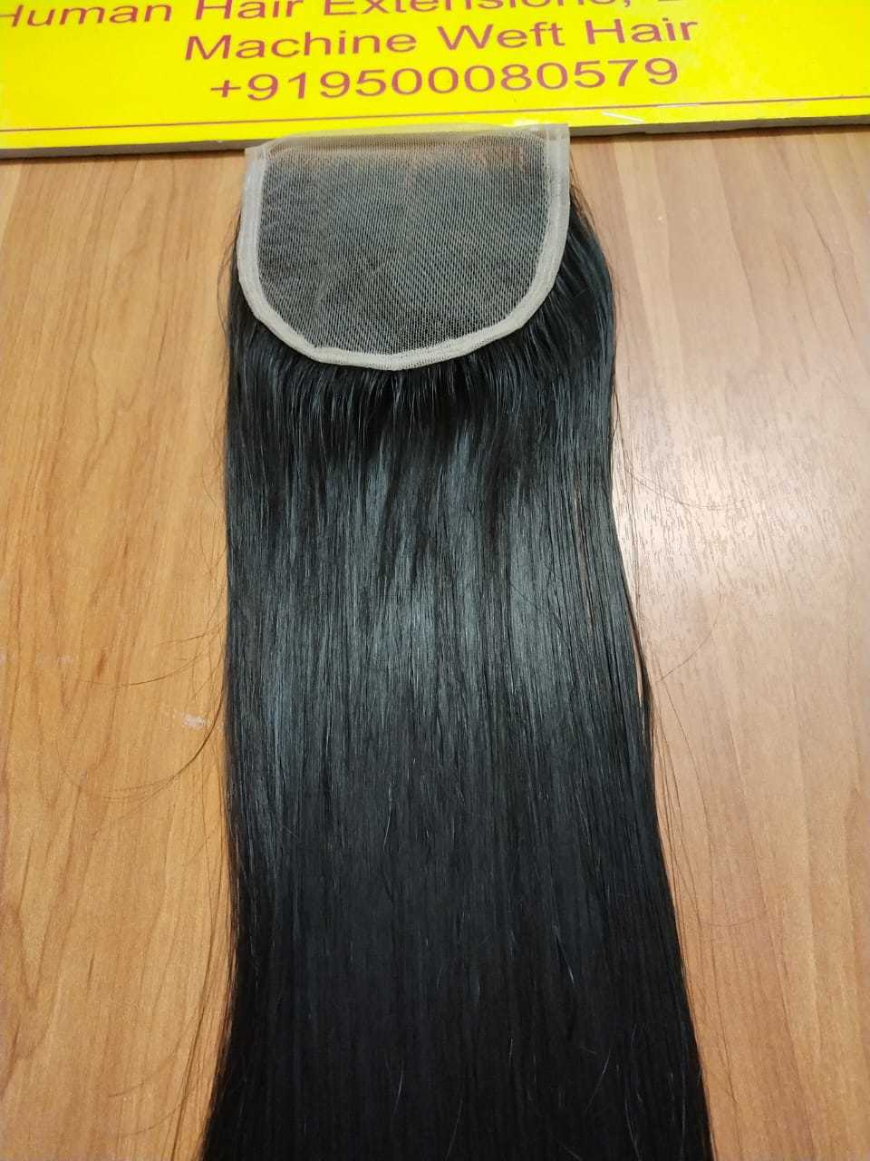 Closure Straight Back Side Hair