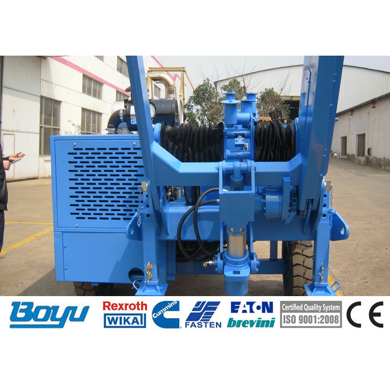 TY40 Stringing Equipment Puller Machine For Overhead Stringing